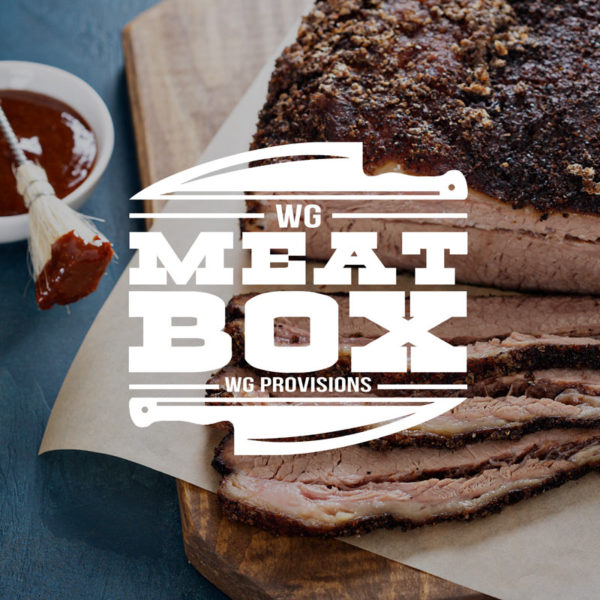 WG MEATMOX - Marv's Meatbox with sliced brisket