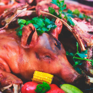 roasting-pig