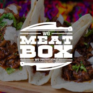 WG MEATBOX - Eve's FIESTABOX with beef barbocoa tacos
